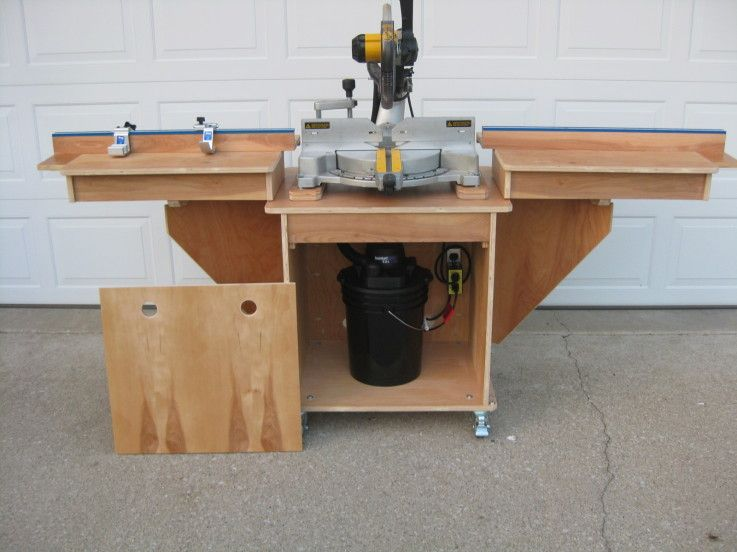 Miter Saw Table2   Kreg Jig Owners Community