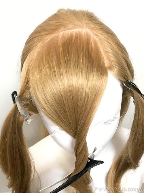 シンデレラの髪型作り方 シンデレラの髪型 シンデレラ 髪型