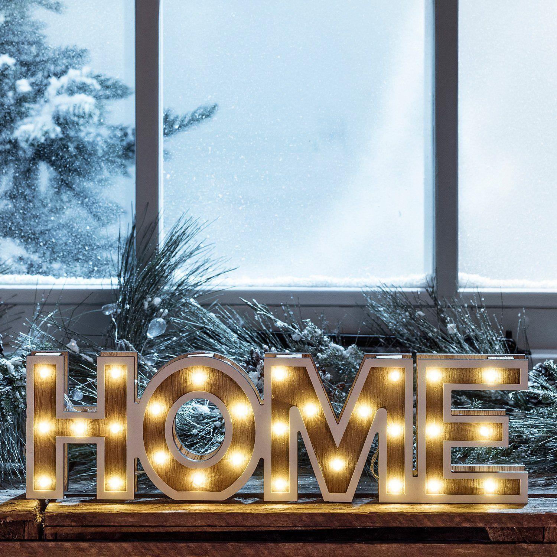 Suche Diesen Und Weitere Pins Auf Wohnzimmer Ideen Lampen LED Home Schriftzug Leuchtbuchstaben Aus Holz Zeitschaltuhr Batteriebetrieb