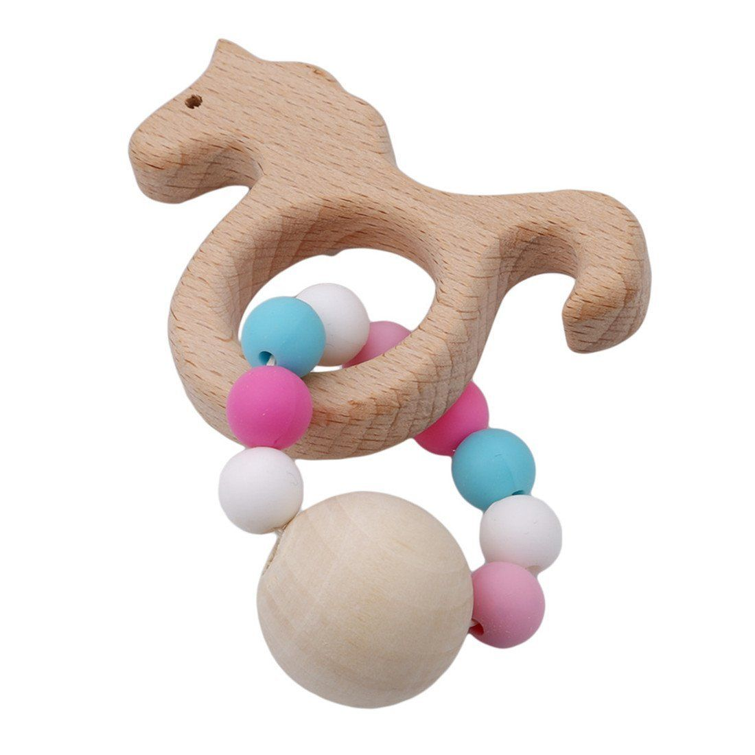 Unicorn toys images  Amazon Edtoy Baby Kids Teething Chew Toy Unicorn Wooden Teether