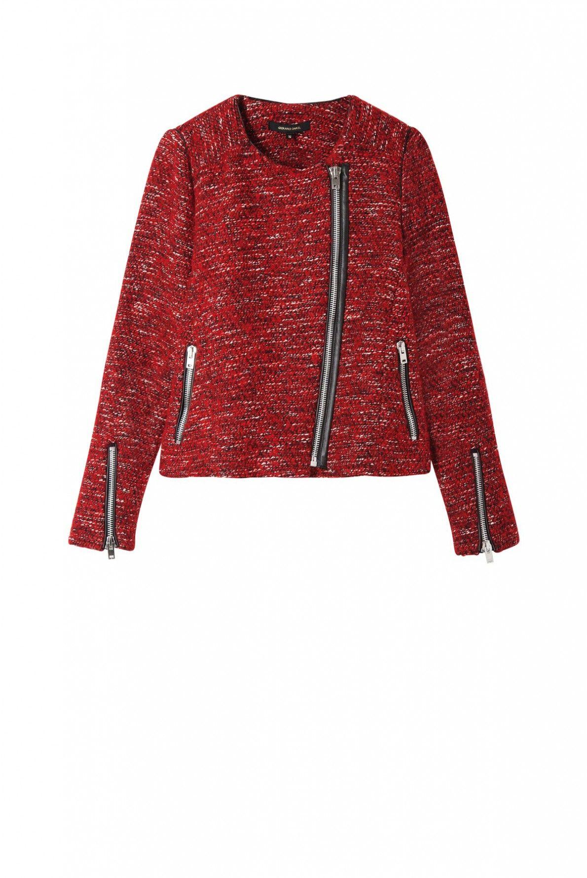 Jacket rouge, vega | gerard darel
