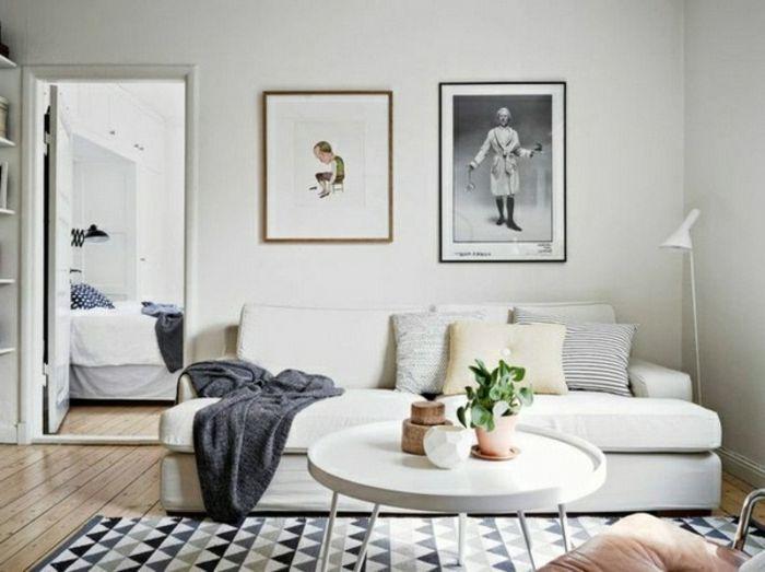 Choisir le meilleur tapis scandinave avec notre galerie! Salons