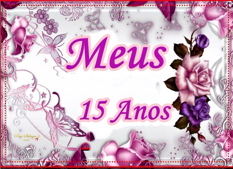 Imagem Para Papel Arroz De Festa De Debutante 15 Anos Paty