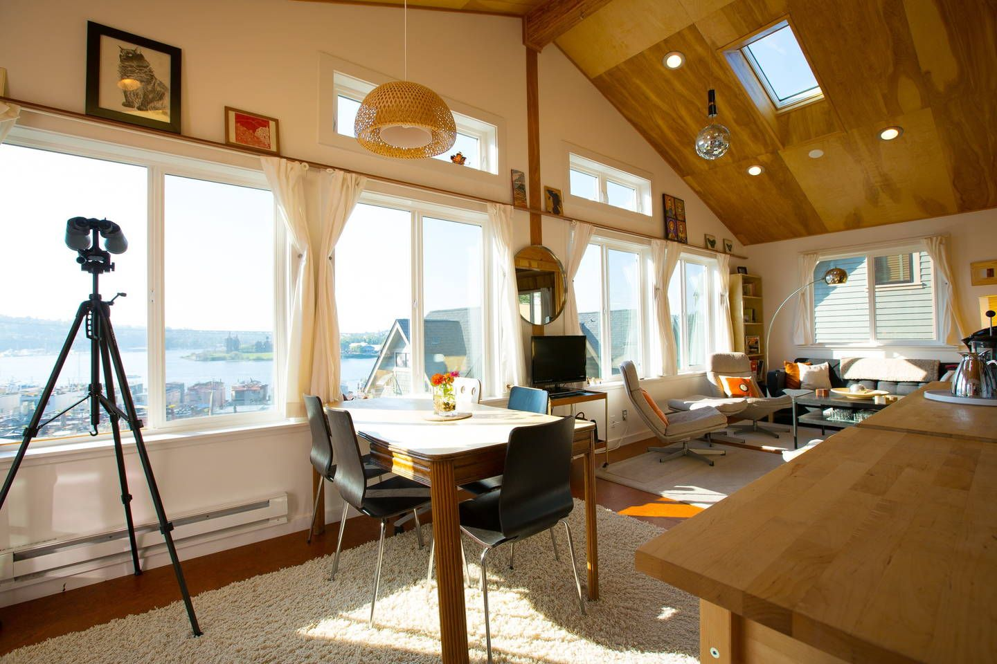 Lake Union view Sky Cabin apartment Apartments for Rent