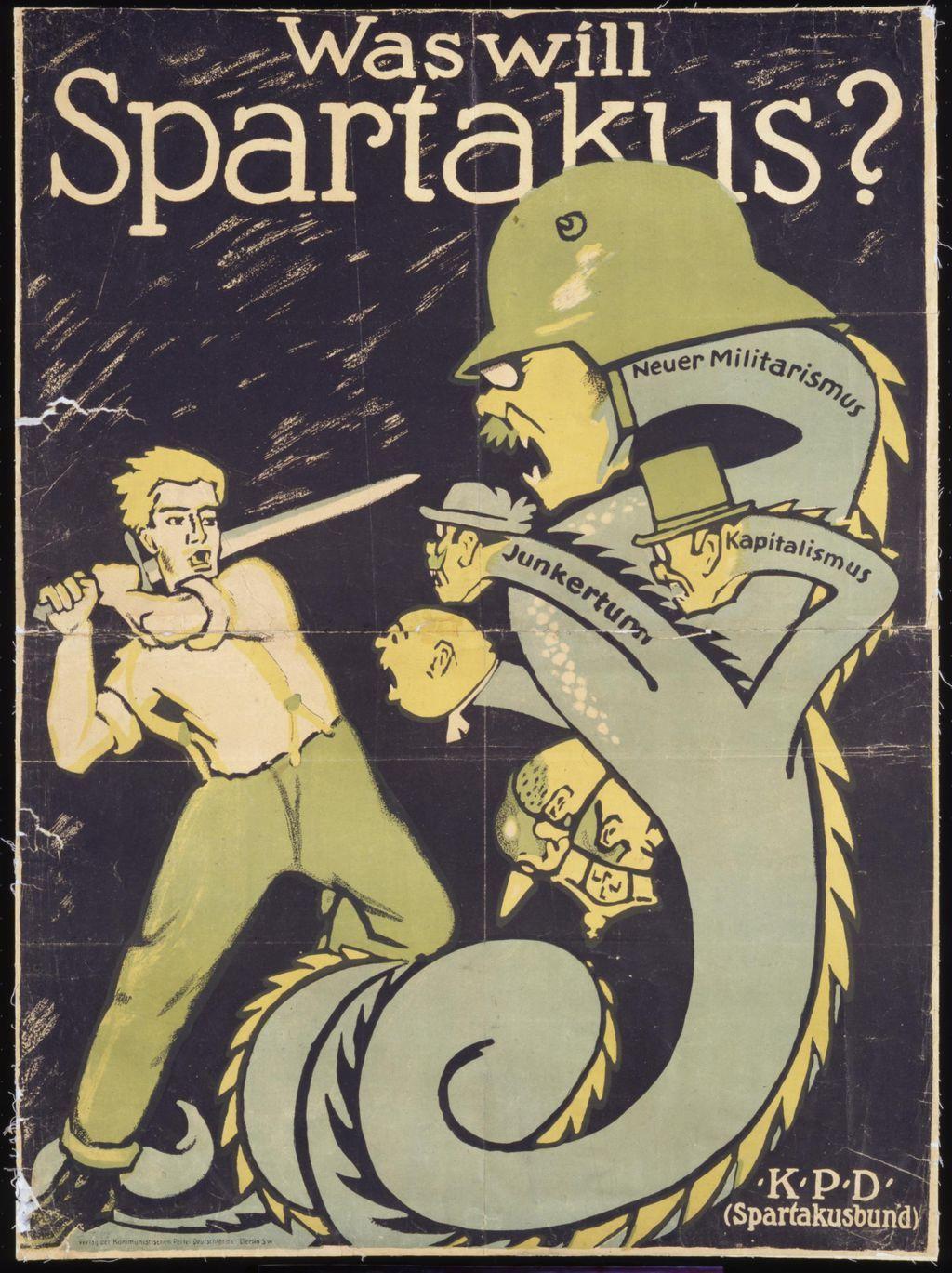 Imagini pentru spartakus rosa luxemburgo