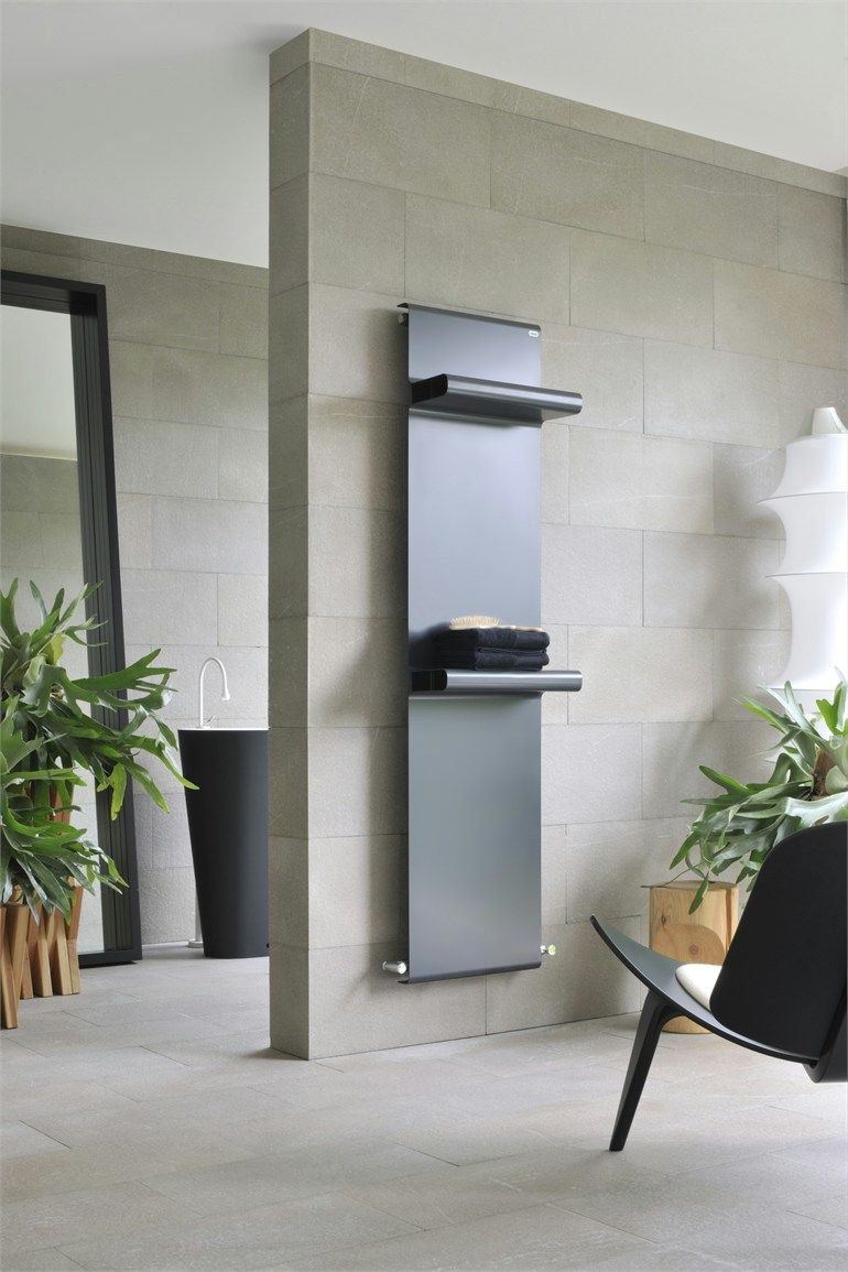 Steel Radiator RUDE By CALEIDO | #Design Francesco Lucchese #bathroom  #minimal @Caleido