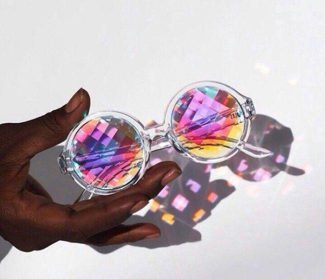 Prizm space — kaleidoscope glasses by future eyes #Sunglasses #buyable