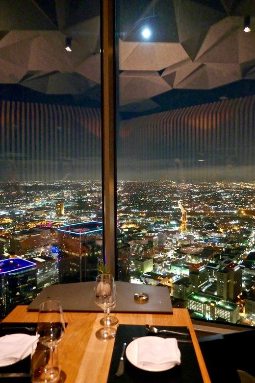 71 Above Downtown Los Angeles Tasting Page Fancy Restaurant Fancy Restaurants Los Angeles Restaurants