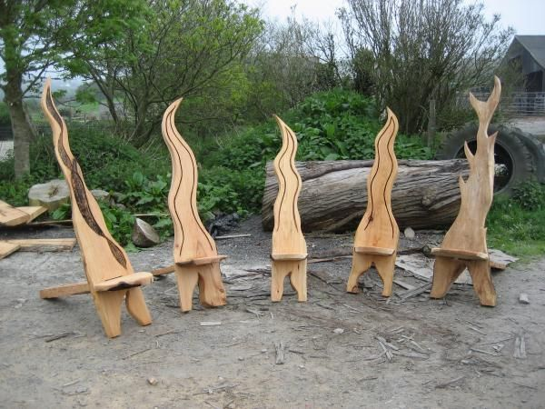 Found Thes Pics Of Some Chairs Me And A Mate Who Is A Top Carver