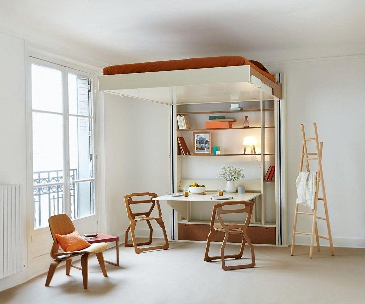 Trasformare Un Garage In Abitazione multifunction furniture for small space tips