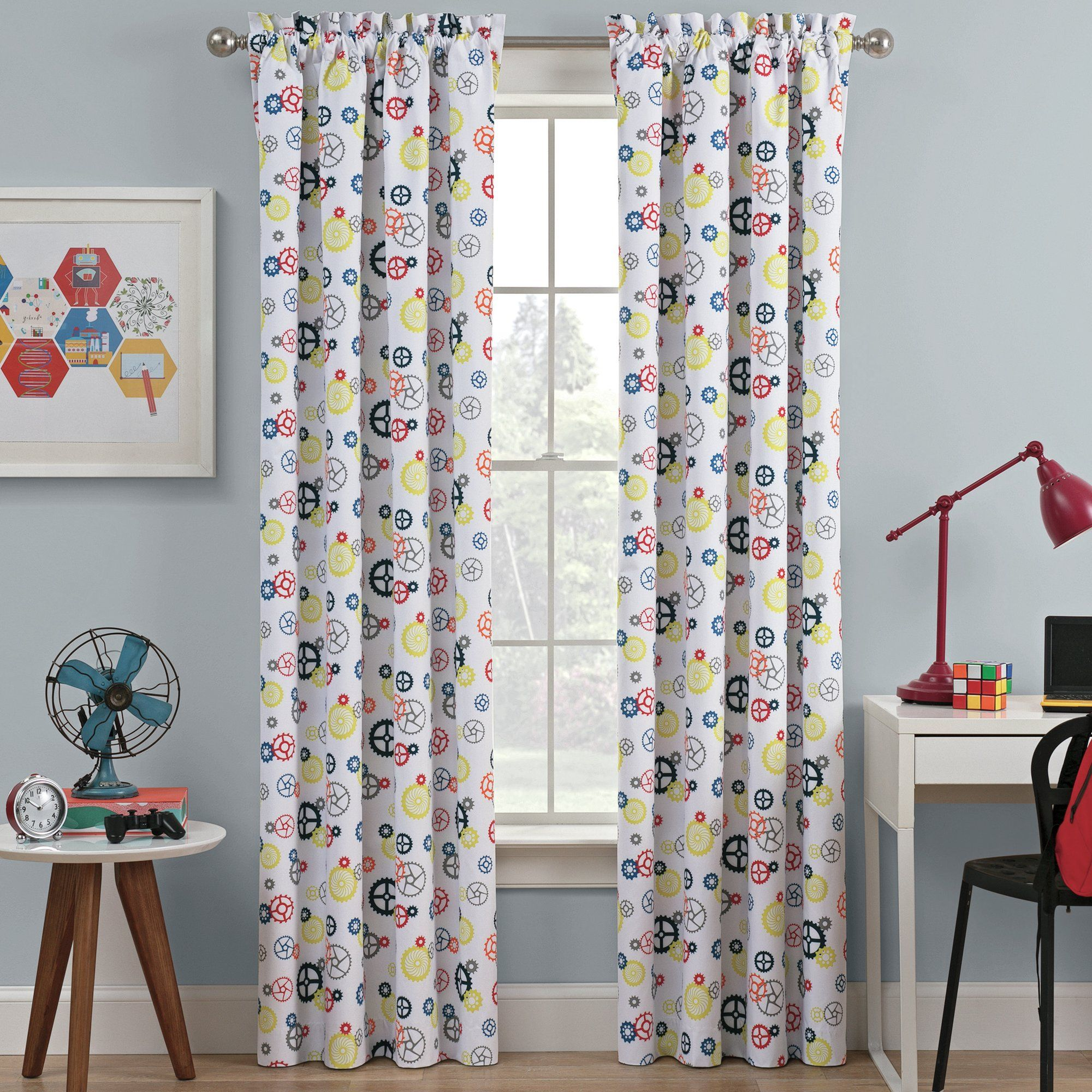 Window cover up ideas  waverly kids wind me up blackout window curtain  products