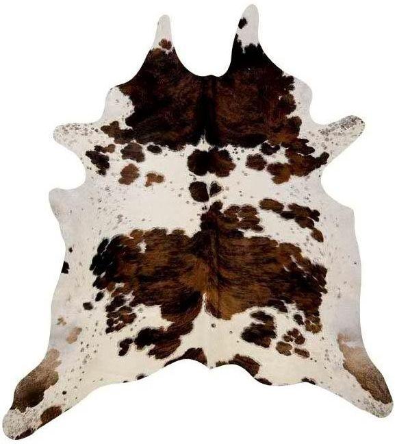 Attractive Natural Cow Hide Rug Tri  Colour