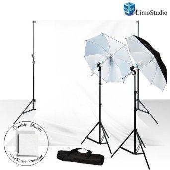 cab525327164 Amazon.com: LimoStudio 800-840W Photography Studio Lighting Kit + 10 ...