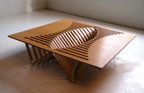 Flat Pack Folding Table