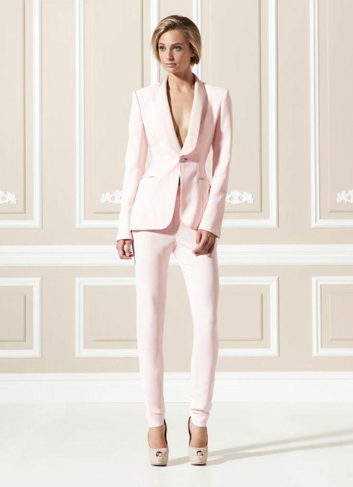 9fc53db6936 Tendance chic pour vous - le tailleur pantalon femme - Archzine.fr ...