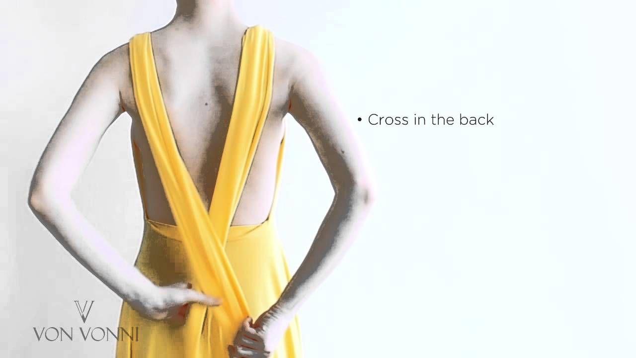 Von Vonni Transformer Dress - Instructions  | Clothes and