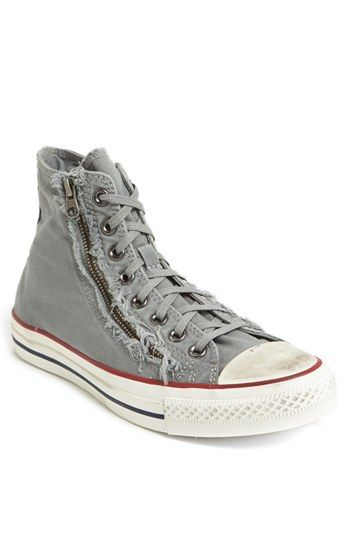 e20c36e80f06 Converse Chuck Taylor® All Star® Distressed Double Zip High Top Sneaker  (Men)