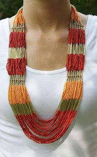 Fabulous beaded necklace!
