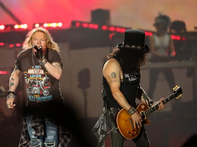 Guns N' Roses Brisbane concert: Original lineup hits city for first time   The Courier-Mail