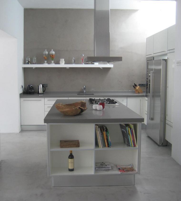 Kitchen Set Expo: Silestone Gris Expo Kitchen Contactanos: Ventas