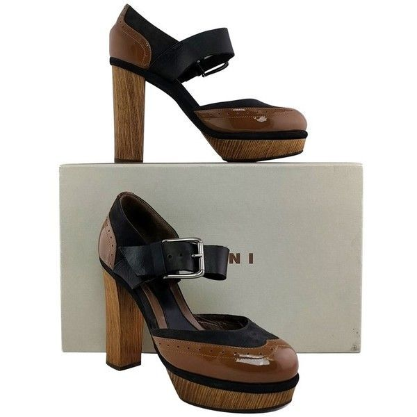Pre-owned - Patent leather sandals Marni obSkMuxVD