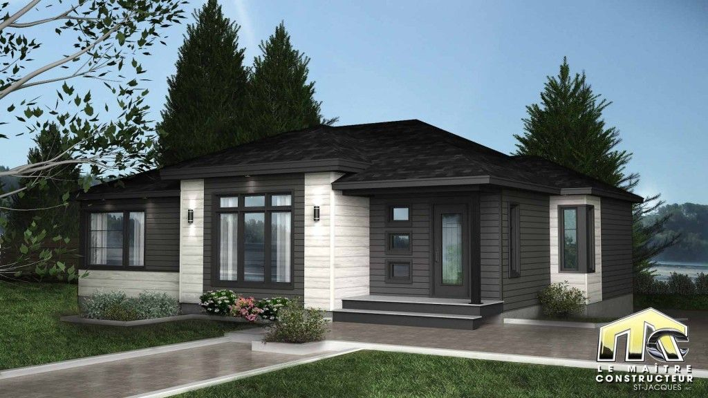 Kiera 3 chambres Maitre constructeur St-Jacques Domy Pinterest - liste materiaux construction maison