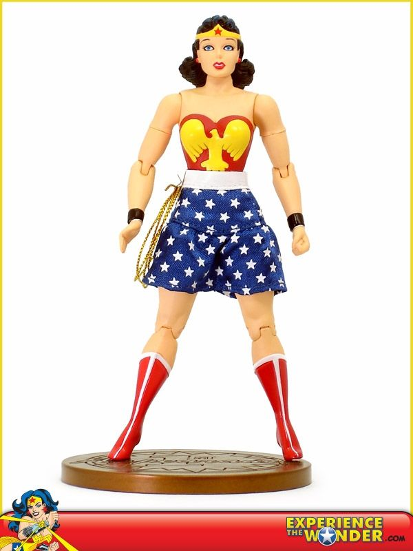 Trinity comic series WONDER WOMAN 6in Action Figure DC Direct Toys