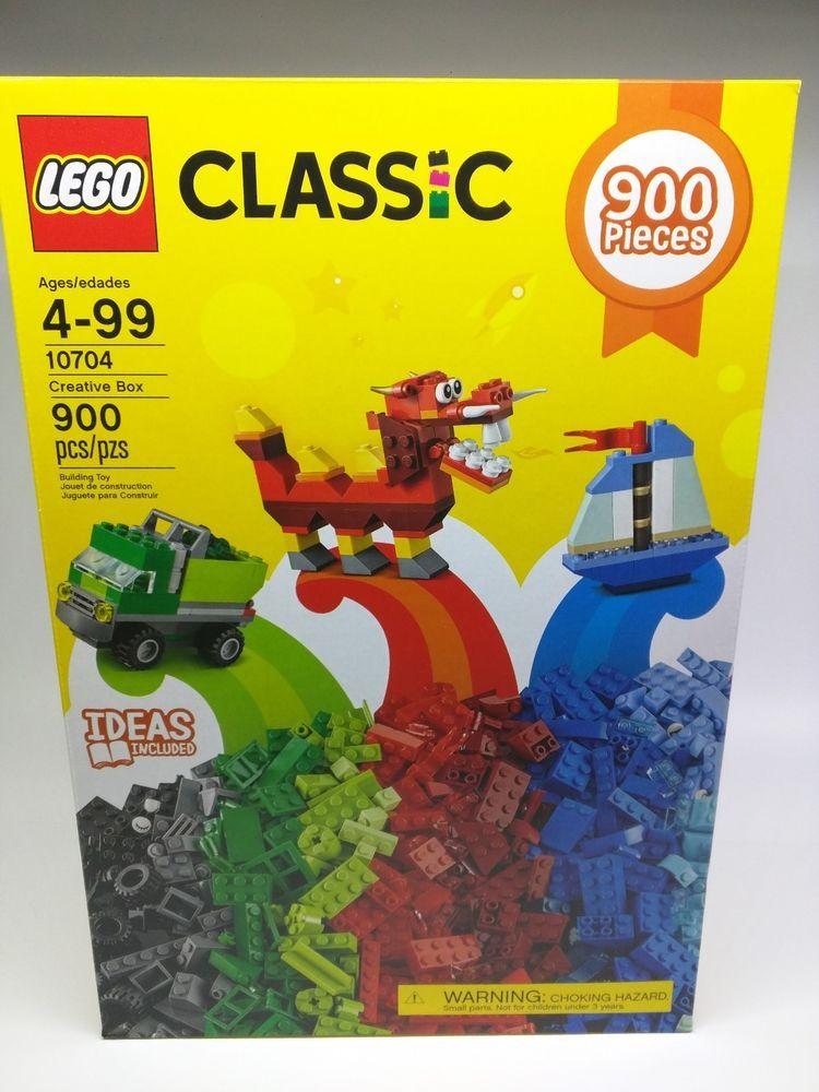 2731c57b49a Lego Classic Creative Box 10704 900 Pieces