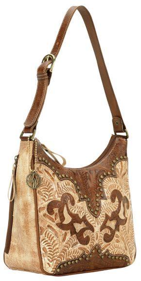 22787c52cea3 American West Annie's Secret Zip Top Shoulder Bag available at ...