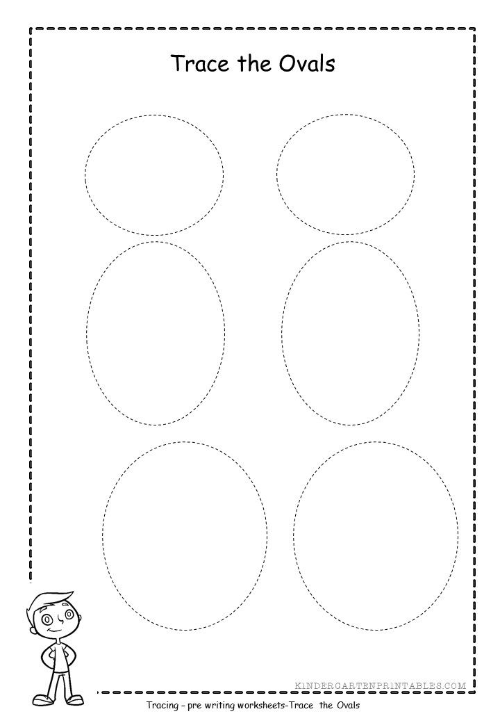photograph regarding Printable Oval Shapes referred to as oval tracing worksheet totally free printable Oval tracing worksheet