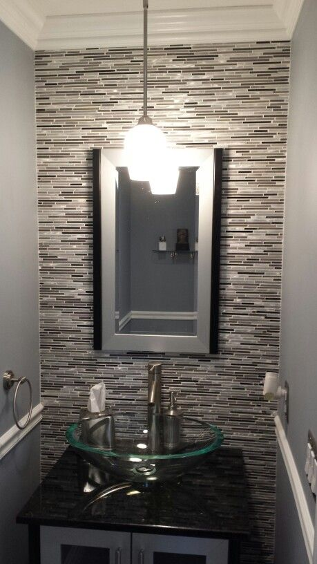 Powder bathroom upgrade