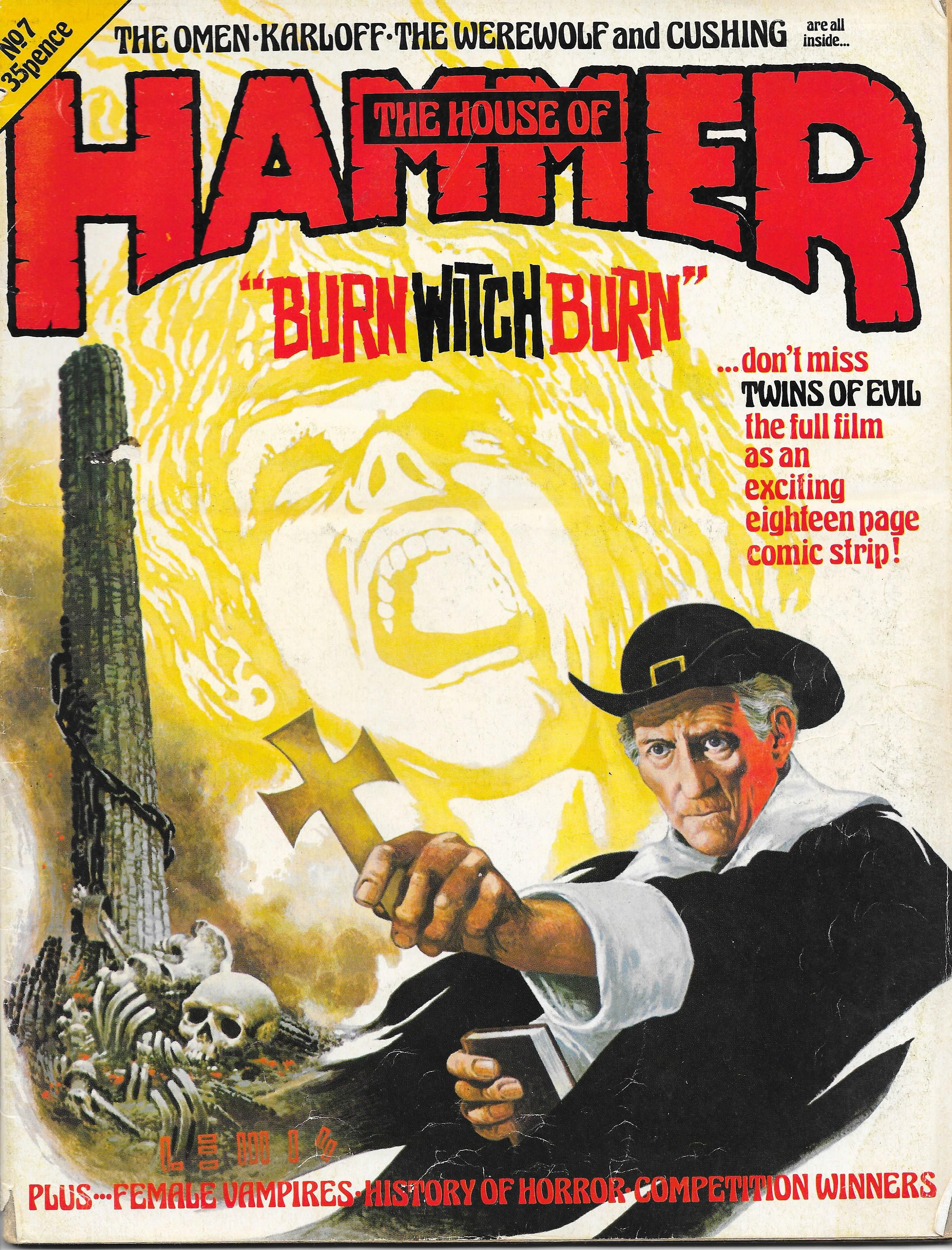 The House Of Hammer cover for 'the house of hammer issue 7. cover art by brian