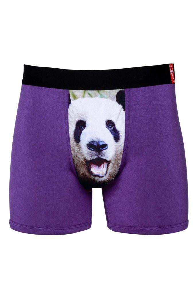 Panda Bear Boxer Briefs for Men Mens Comfortable Underwear