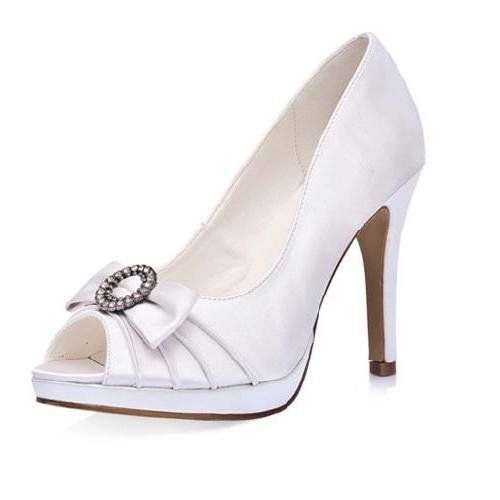 34256a45b Pin by Emma Hostetler on Shoes | Bridal shoes, Shoes, Rhinestone wedding