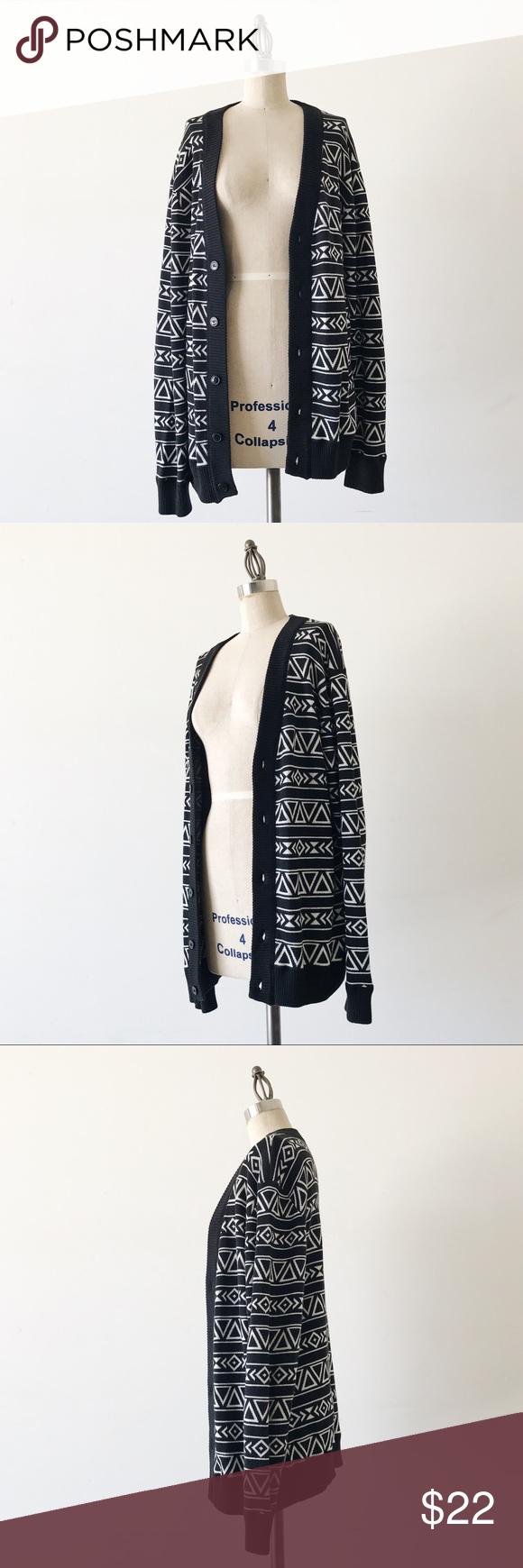 PACSUN | Cotton Boyfriend Cardigan | Sweater cardigan, Sleeve and ...