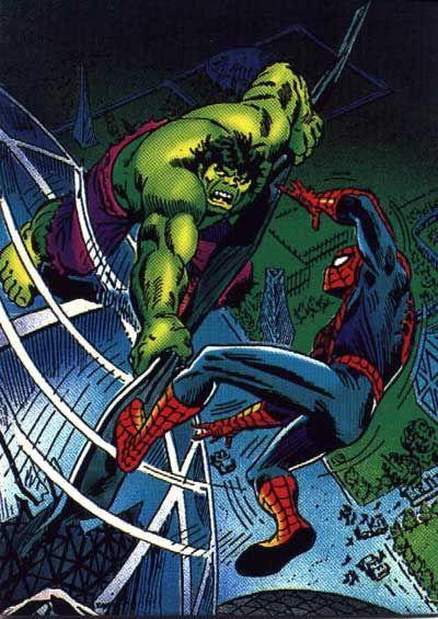 #Hulk #Fan #Art. (Amazing Spider-Man Vol.1 #120 Cover) By: John Romita Sr. (THE * 5 * STÅR * ÅWARD * OF: * AW YEAH, IT'S MAJOR ÅWESOMENESS!!!™)[THANK Ü 4 PINNING!!!<·><]<©>ÅÅÅ+(OB4E)