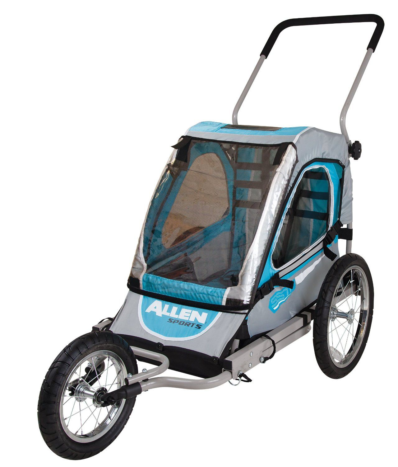 Amazon Allen Sports Premier 1 Child Jogger Bike Trailer Sports