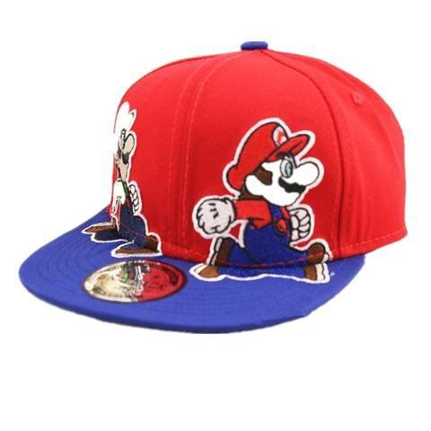 6efebe1578b ALLKPOPER Fashion Unisex Cartoon Children Super Mario Cartoon Kids Baseball  Cap Boys Girls Hip-Hop