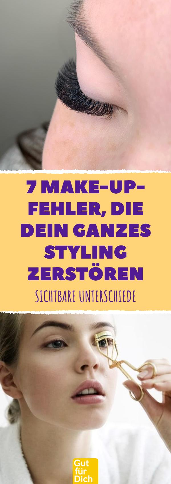 Mein Blog – Mein WordPress-Blog – 7 Make-up-Fehler, die all Ihr Styling zeigen ….