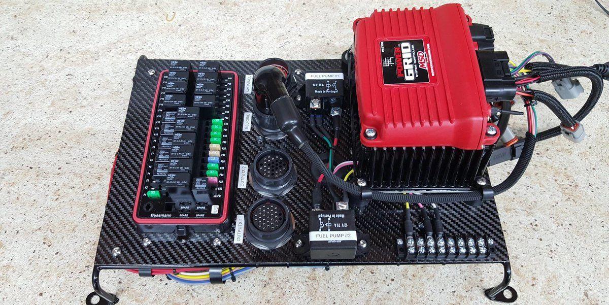 RaceWire Solutions Fuse panel, Circuit design, Jeep