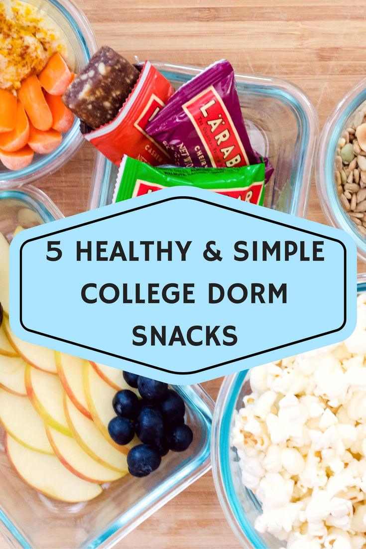 Healthy snack foods for college students