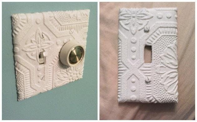 Faux Wood Grain 7 Pattern Texture Light Switch Covers Home Decor Outlet