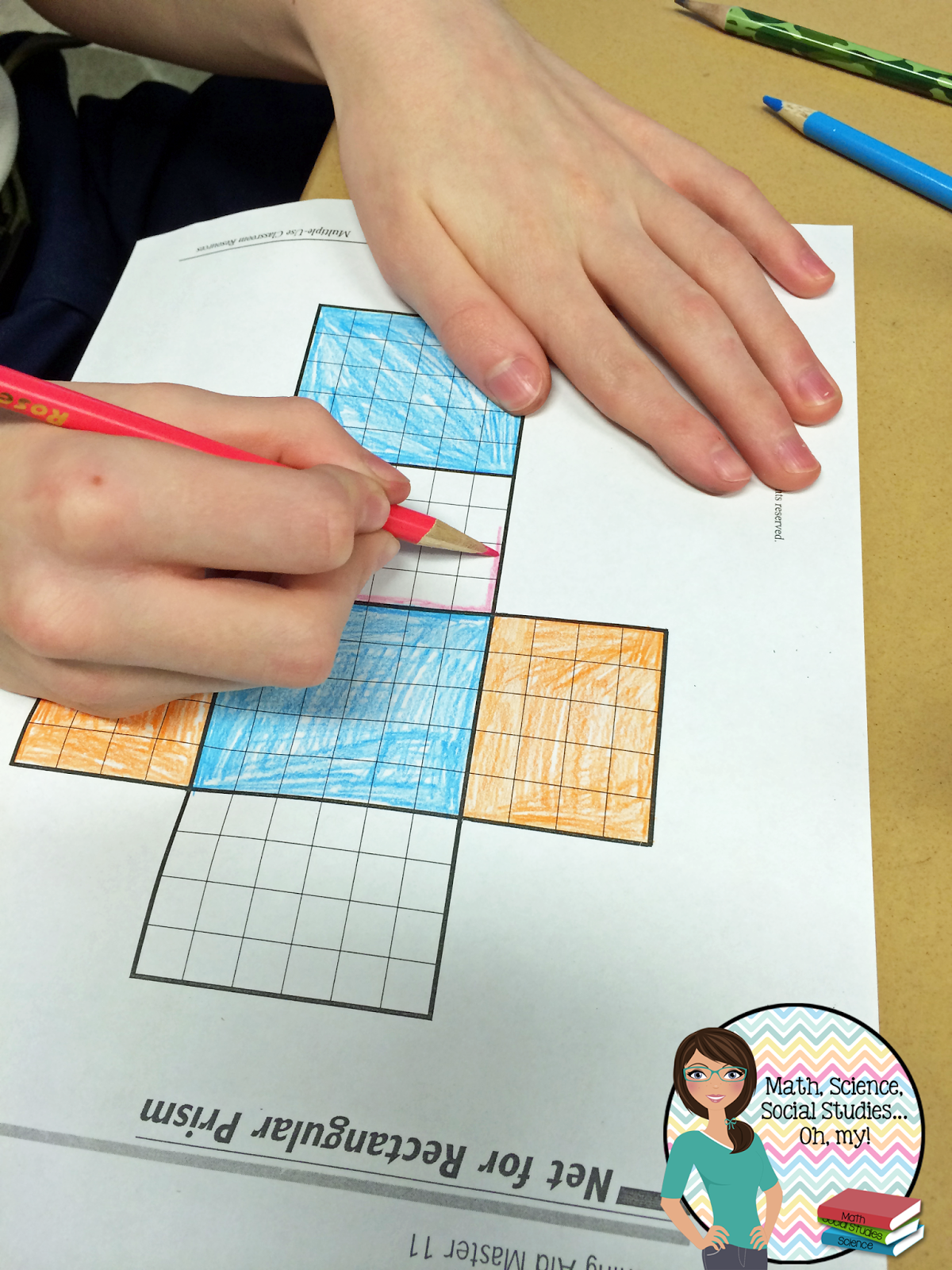 Surface Area Using Nets