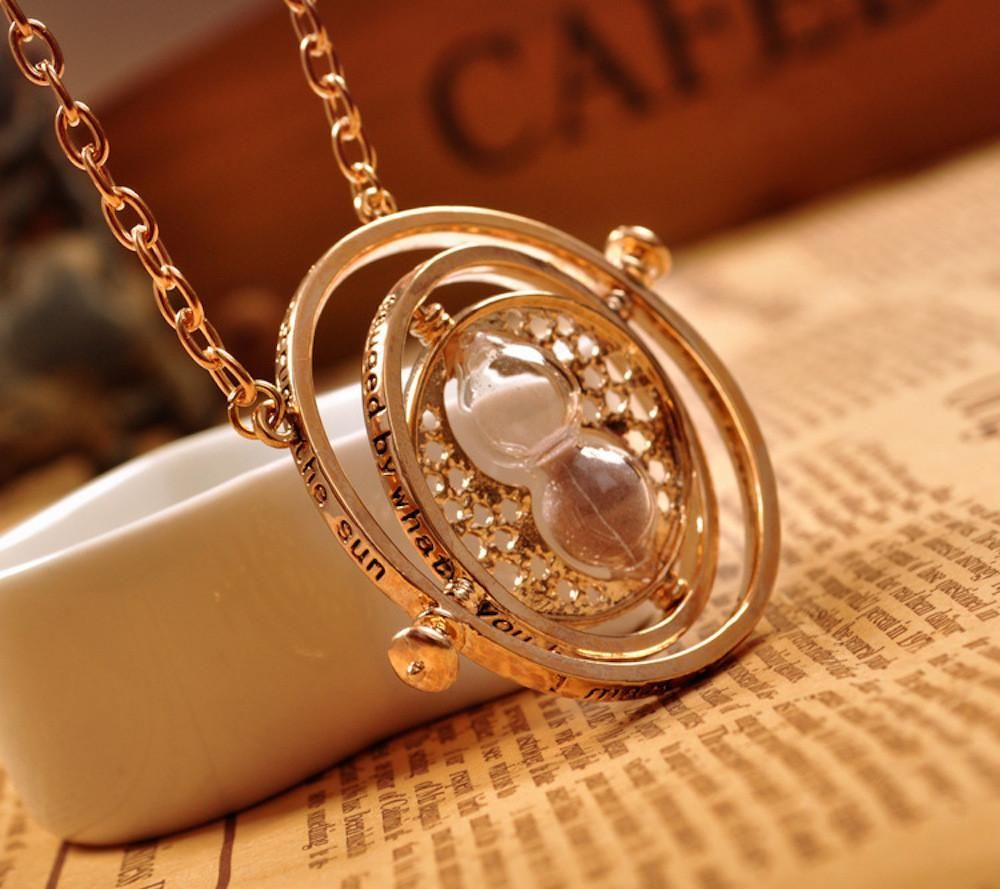 Steampunk TIME TURNER Necklace