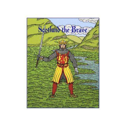 Scotland the brave metal