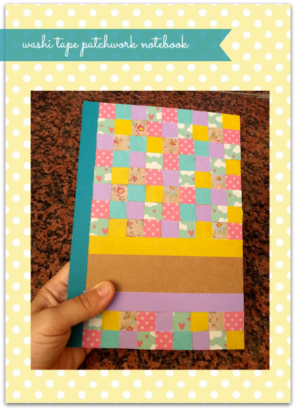 DIY molón: Cómo decorar una libreta con washi tape