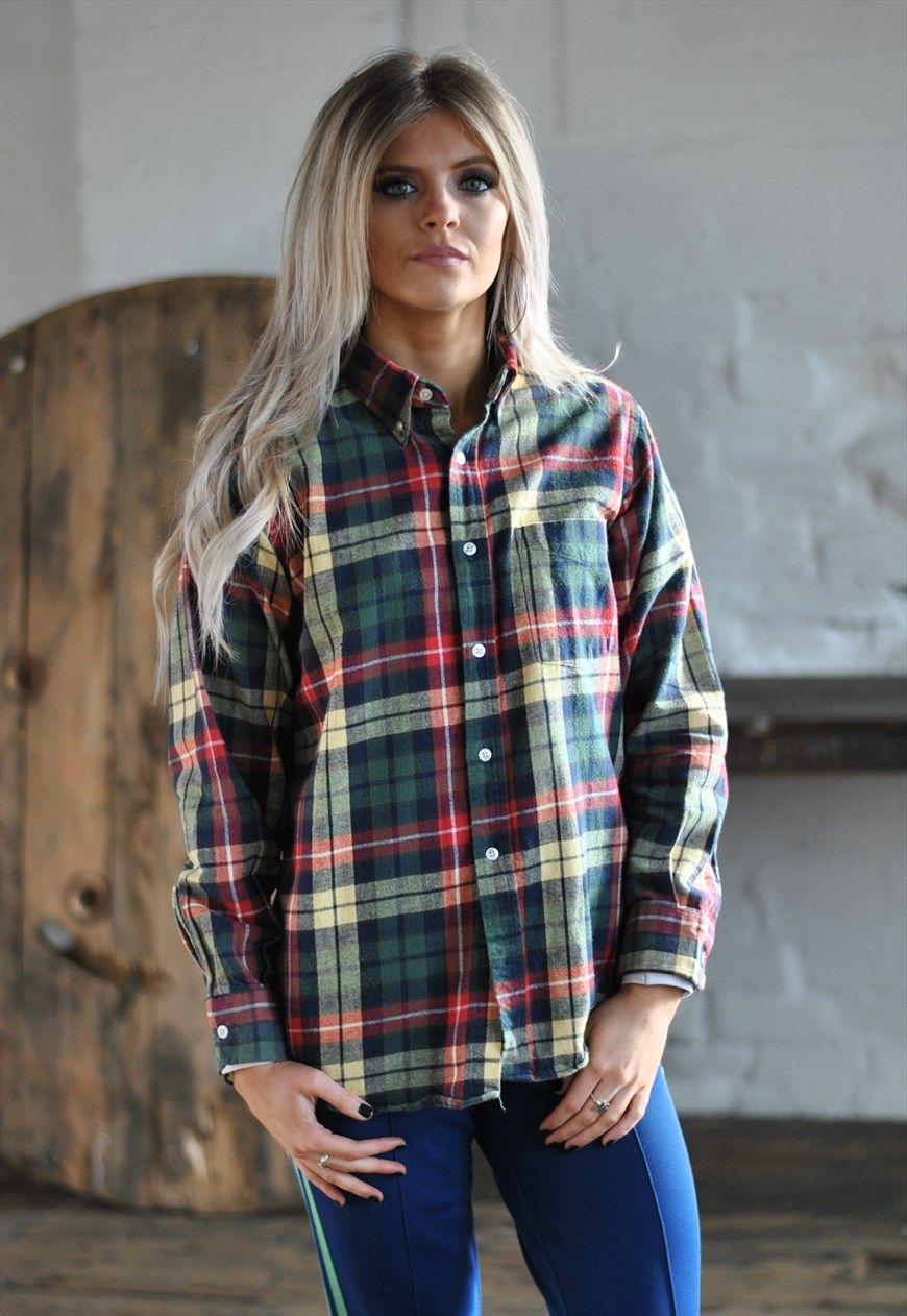 Flannel shirt ideas  s LL Bean lumberjack checked flannel shirt