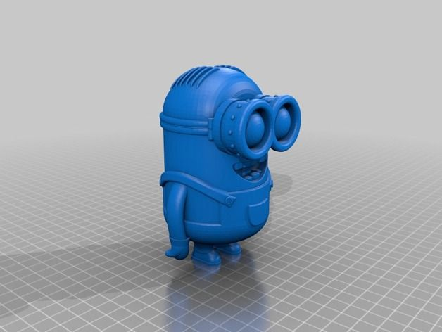 Minion Dave by Poh Thingiverse Minion dave, Minions