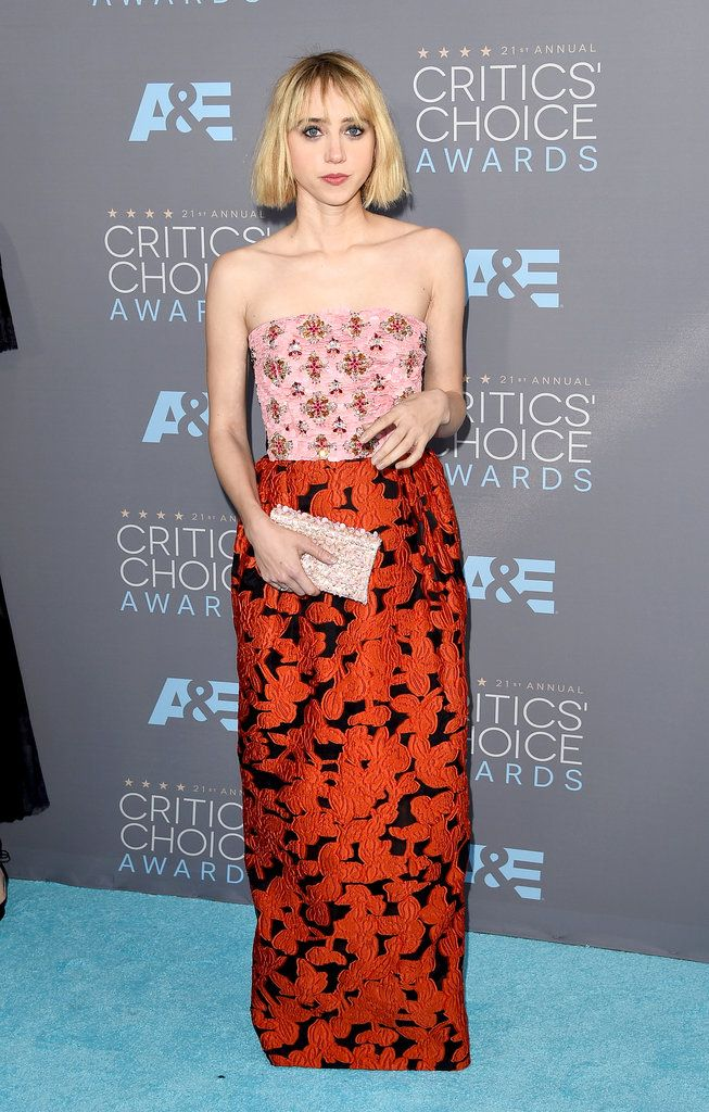 The 21st Annual Critics' Choice Awards Red Carpet - Zoe Kazan