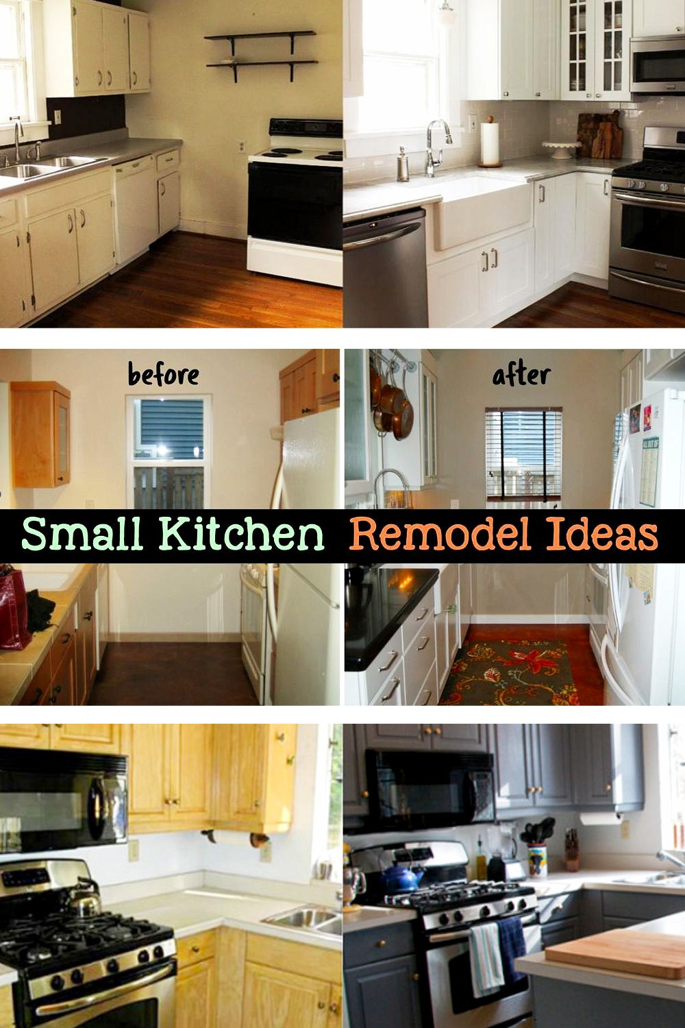 Small Kitchen Ideas On A Budget Before After Remodel Pictures Of Tiny Kitchens Clever Diy Ideas Kitchen Remodel Small Small Kitchen Ideas On A Budget Small Apartment Kitchen Decor